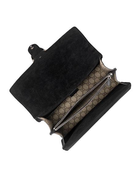 Dionysus GG Supreme Shoulder Bag, Beige/Ebony/Nero