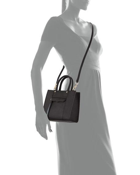 MAB Saffiano Mini Tote Bag, Black