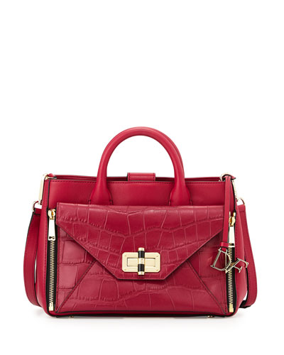 440 Gallery Secret Agent Tote Bag, Cerise