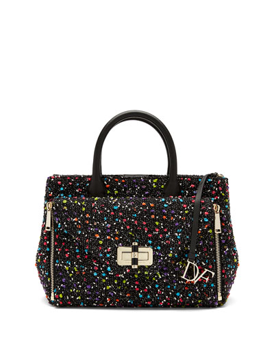 440 Gallery Secret Agent Tote Bag, Confetti Tweed