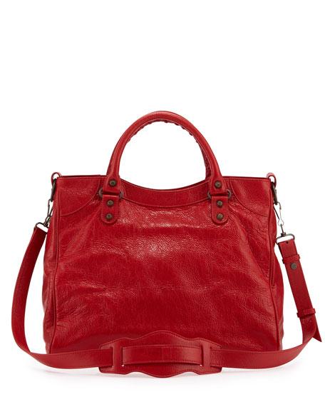 Classic Velo Crossbody Bag, Red