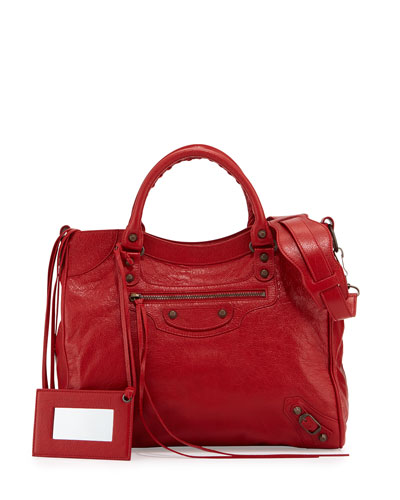 Classic Velo Crossbody Bag, Red