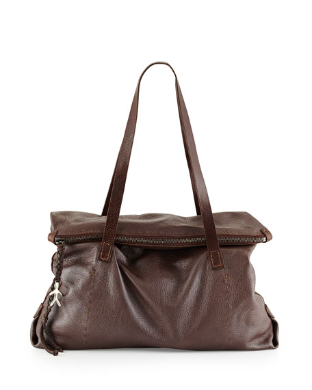 Henry Beguelin Lady Amazone Medium Fold-Over Tote Bag