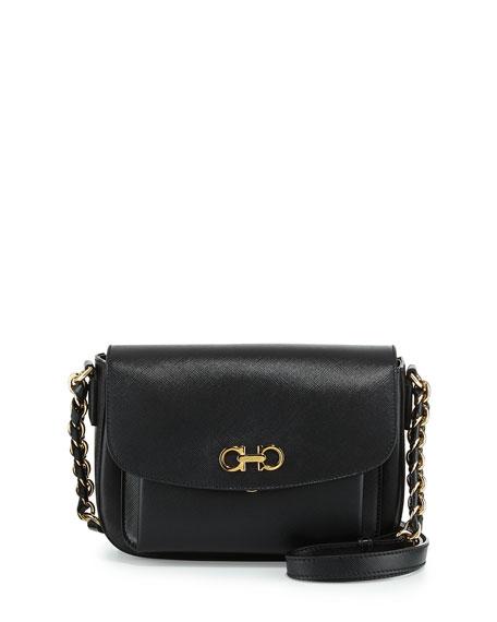 e7a5263d16 Salvatore Ferragamo Sandrine Small Flap Shoulder Bag