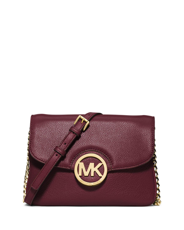 9ef335b2f622 MICHAEL Michael Kors Fulton Flap Crossbody Bag