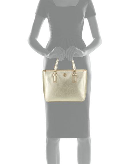 598f241d65c0 Tory Burch Robinson Mini Square Saffiano Tote Bag