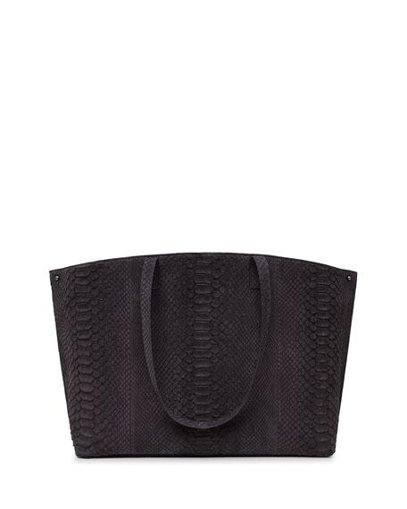 Ai Python Medium Shoulder Bag, Black