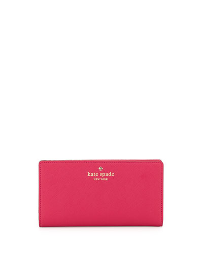 cedar street stacy wallet, sweetheart pink