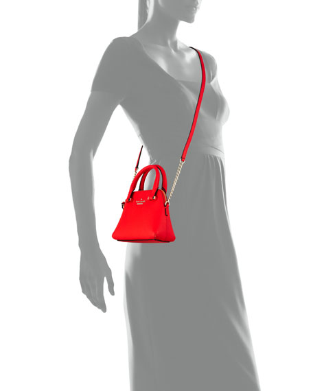 kate spade new york cedar street mini maise crossbody bag, cherry liqueur