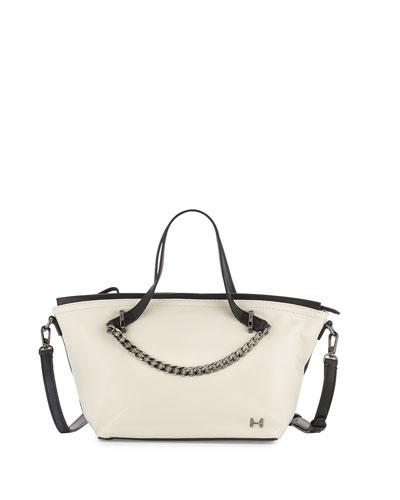 88b7f73cb5dc Halston Heritage Colorblock Leather Satchel Bag