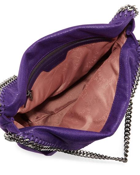 Stella McCartney Falabella Fold-Over Tote Bag, Bright Purple