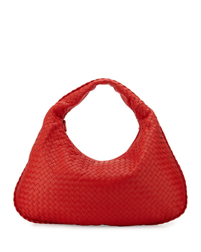 Veneta Large Sac Hobo Bag, Red