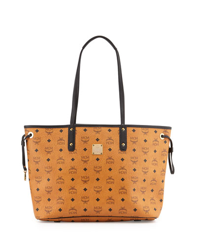Shopper Project Visetos Medium Reversible Shopper Tote Bag, Cognac
