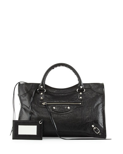 Classic Nickel City Bag, Black
