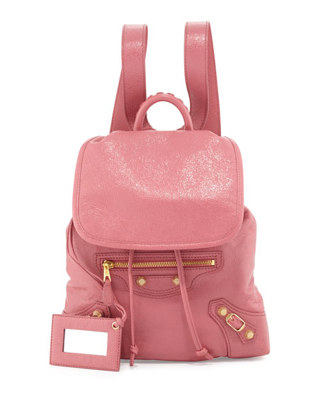 Balenciaga Giant 12 Traveler XS Backpack, Rose
