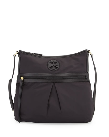 Tory Burch Nylon Swing Pack Crossbody Bag, Black