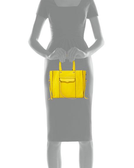 MAB Mini Leather Tote Bag, Sunshine