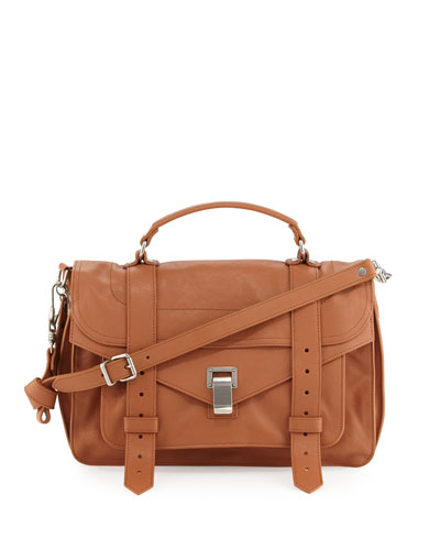PS1 Medium Satchel Bag, Dune