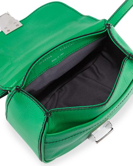 Kent Tiny Vachetta Messenger Bag, Aloe