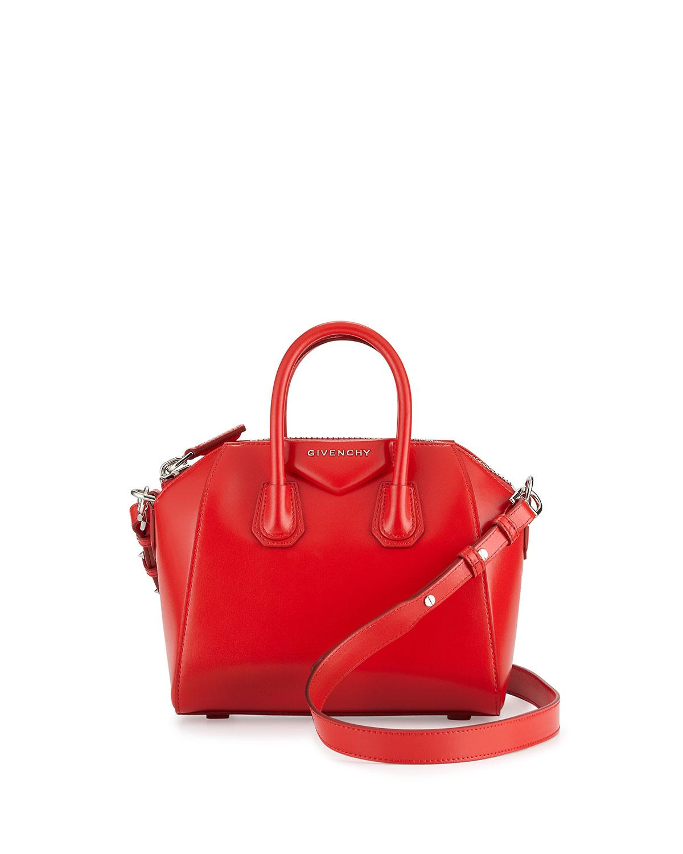 1db864a262 Givenchy Antigona Mini Calf Leather Satchel Bag