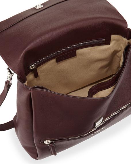 Givenchy Pandora Pure Medium Leather Satchel Bag, Oxblood