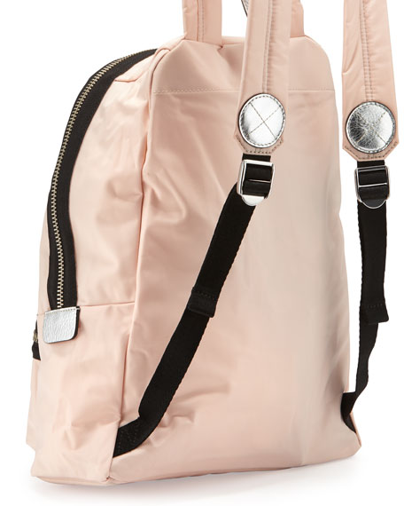 MARC by Marc Jacobs Domo Arigato Packrat Nylon Backpack, Pearl Blush Multi