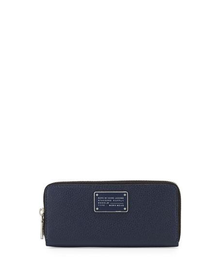 MARC by Marc Jacobs New Too Hot Too Handle Slim Zip-Around Wallet, ...