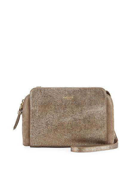 Nina Ricci Marche Duo Mini Crossbody Bag, Gold