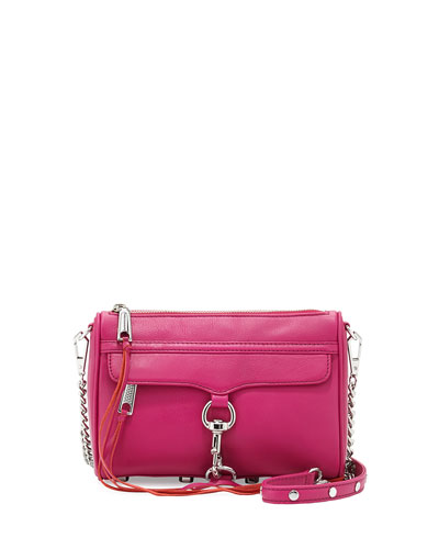 Mini MAC Clutch Bag, Magenta