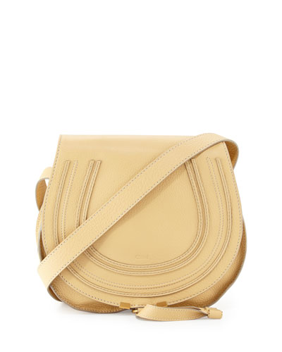 Marcie Medium Crossbody Satchel Bag, Eggshell