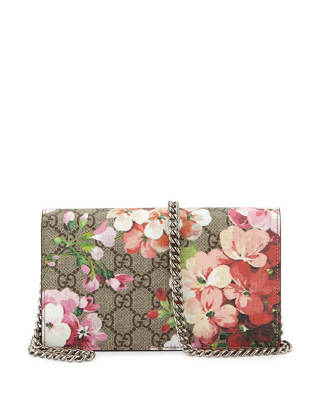 5a29ba32d4ec Gg Blooms Supreme Chain Wallet Multi Rose | Stanford Center for ...