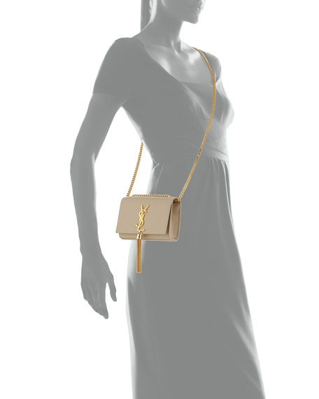 yves saint laurent purses uk - Saint Laurent Monogram Small Tassel Crossbody Bag, Beige