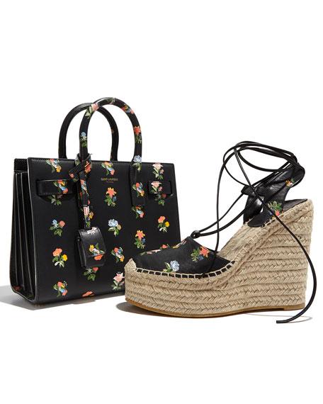 Sac de Jour Mini Prairie Satchel Bag, Black Multi