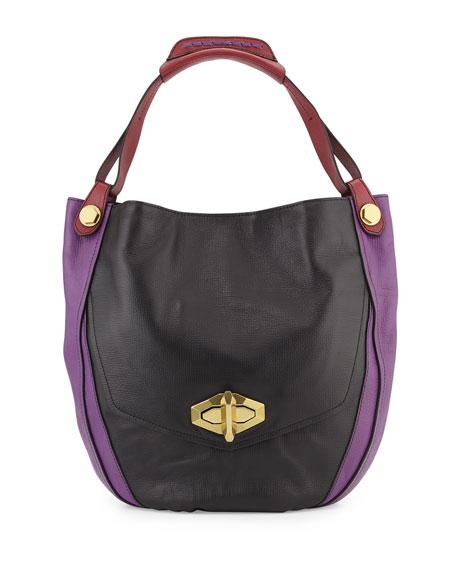 OryanyJulia Colorblock Hobo Bag, Black/Multi