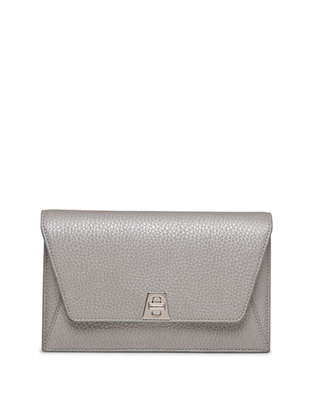 Anouk Chain Envelope Clutch Bag, Silver