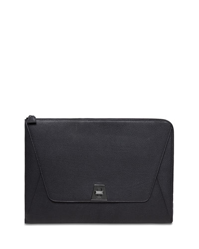 Anouk Envelope Clutch Bag, Black