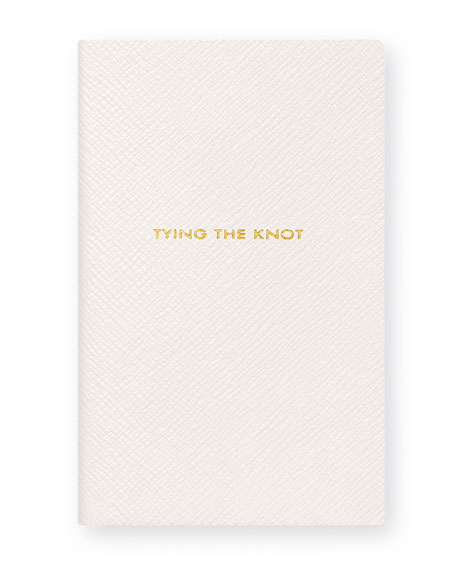 "Panama ""Tying the Knot"" Notebook, White"