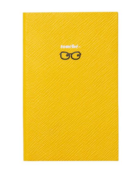 """Varham Panama """"Touche"""" Journal, Yellow"""