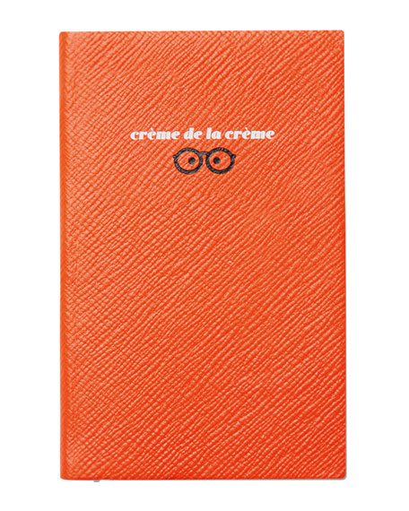 "Varham Panama ""Creme de la Creme"" Journal, Orange"