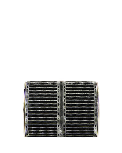 Dalila Gentle Archive Crystal Clutch Bag