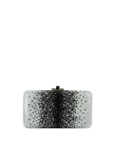 Airstream Slide Crystal Clutch Bag, Lagoon