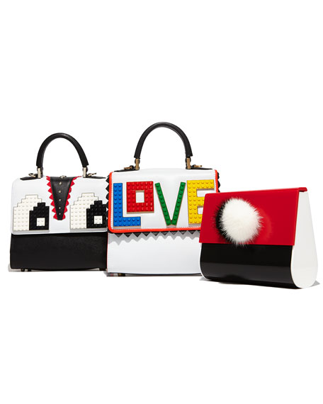 Alex Mini Rainbow Love Frame Bag