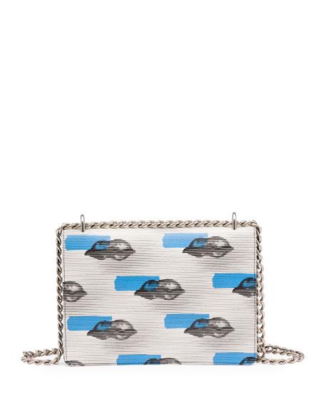 prada galleria bag - prada daino lip-print leather shoulder bag, fake prada purses for sale