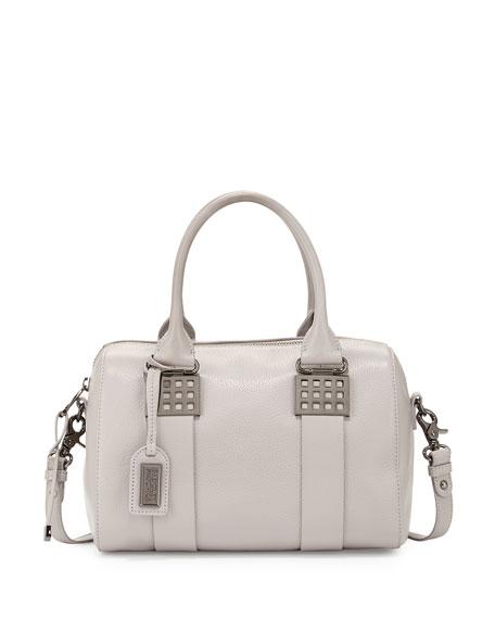 Badgley MischkaAlly Leather Satchel Bag, Dove