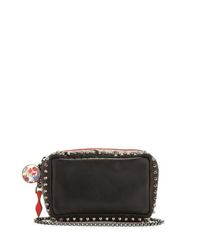 Piloutin Studded Wristlet Clutch Bag, Black