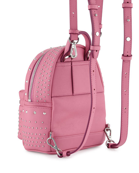 Stark Special Bebe Boo Leather Backpack, Chateau Rose