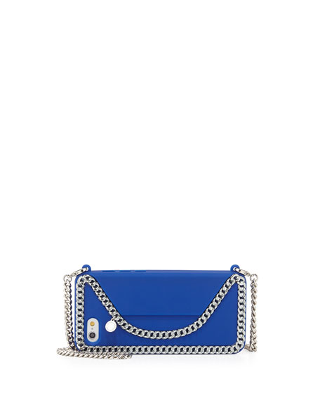 Stella McCartney iPhone 6 Crossbody Case, Bright Blue