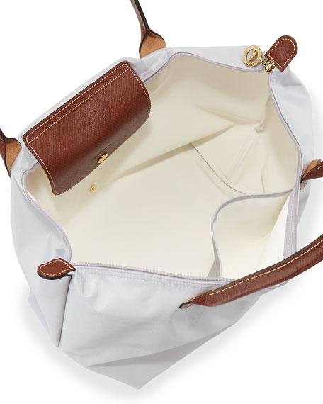 Le Pliage Large Shoulder Tote Bag, Pearl