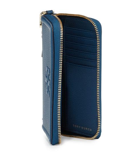 1417ecefff Tory Burch Thea Zip-Around Smartphone Wristlet, Tidal Wave