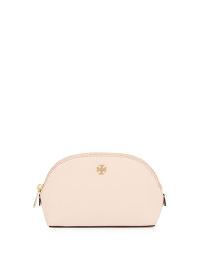 Robinson Small Makeup Bag, Pale Apricot